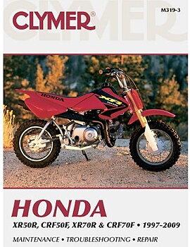 M319 Clymer Rep.bok Honda XR50R/XR70R 9-319