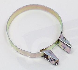 Klammer Svarta/Silver till Insugsgummin Honda CB750K0- (17255-230-000)  95018-46250