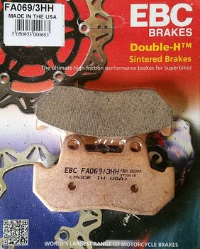 Bromspads Sintrade Fram-Bak Honda GL1500 Goldwing ( 06435-MT8-405) FA069/3HH