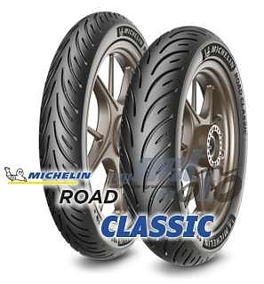 Michelin Road Classic *NYHET* Motorcykeldäck för Classic Bikes