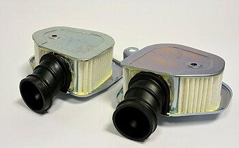17210-369-000/17310-369-000 Luftfilter sats Honda CB250,CB350 Twin