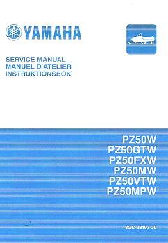 Instruktionsbok/Servicemanual Yamaha Phazer / Venture Snöskoter 2007-18