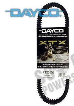 Dayco XTX5058 Drivrem-Variatorrem 35,5x1124 Yamaha (8JP-17641-00)
