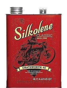 Silkolene Classic Motoroil 30-40-50  4 eller 5 Liters förpackningar
