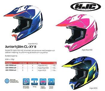 HJC Juniorhjälmar CL-XY II