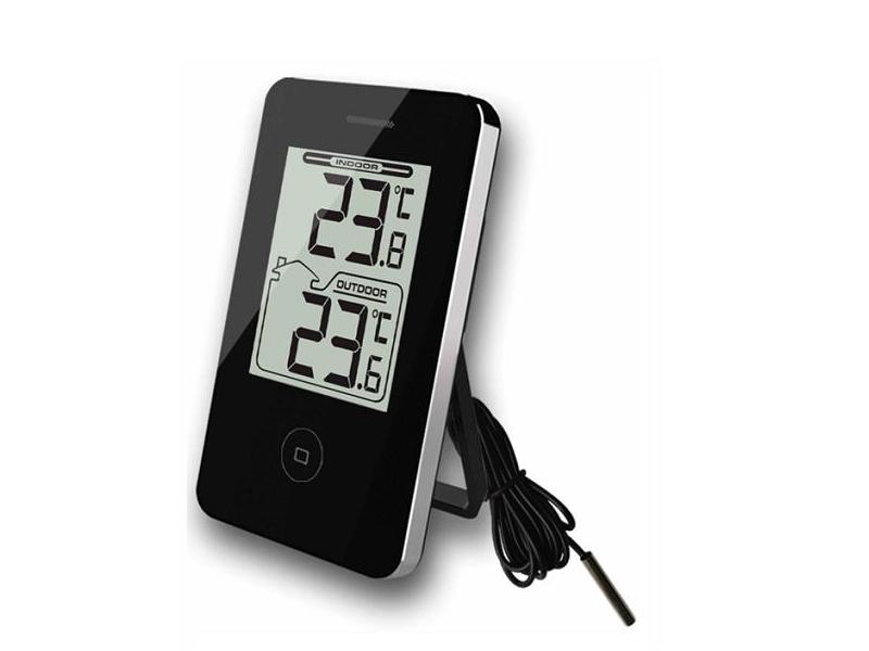 Digital termometer Svart