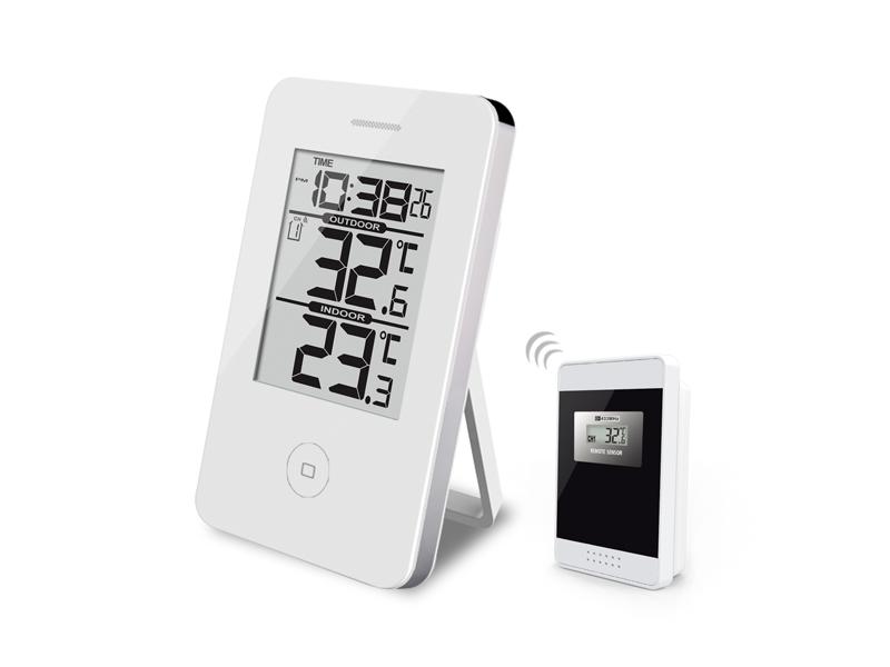 Digital termometer Vit Trådlös