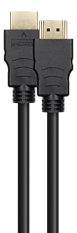 Deltaco Ultra High Speed HDMI-kabel, 8K@60Hz, 1m, svart