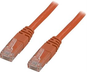 Deltaco U/UTP Cat6 patchkabel 25m, orange