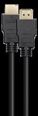 Deltaco Ultra High Speed HDMI-kabel, 8K@60Hz, 0,5m, svart