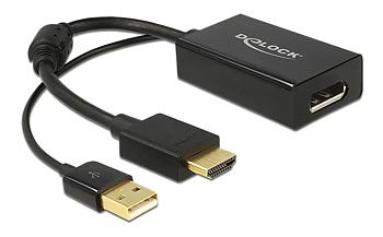 DeLOCK HDMI till DisplayPort adapter, 4K