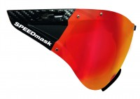Casco SPEEDmask CARBONIC Multilayer Red mirror