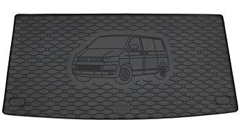 Bagagerumsmatta gummi med motiv VW T5/T6 buss