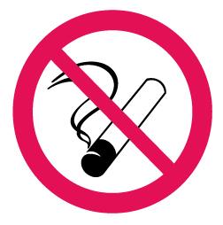 1000 Rökning förbjuden