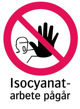 1507 Isocyanat-arbete pågår