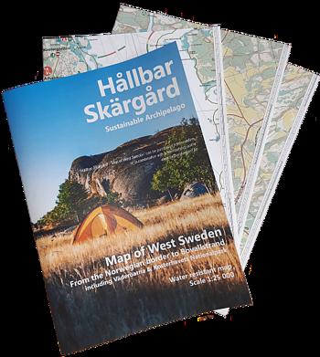 Hållbar Skärgård kartan Norra Bohuslän