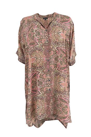 Black Colour - Luna Isha Shirt Rose Ivory