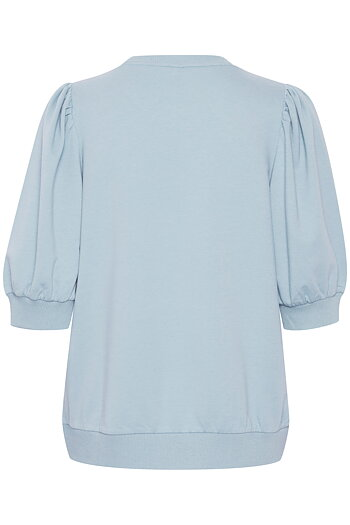 Culture - Monty SS Pullover Cashmere Blue