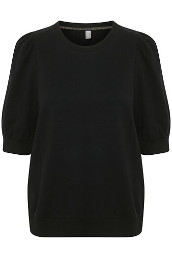 Culture - Monty SS Pullover Black