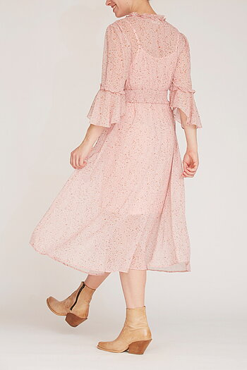 Isay - Fura Dress Rose Explosion