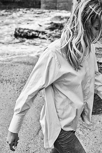 Mos Mosh - Enola Shirt White