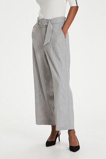 Kaffe - Toria Pants Grey Melange