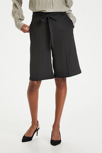 Kaffe - Lara Shorts Black Deep