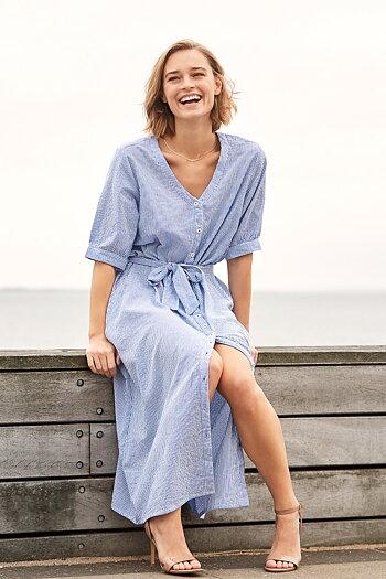 Tif Tiffy - Olga Dress Blue