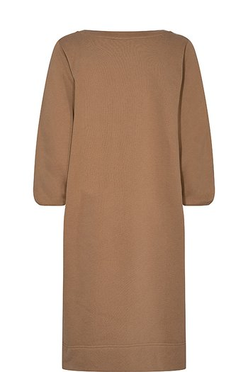 Mos Mosh - Cosy Sweat Dress Toasted Coconut