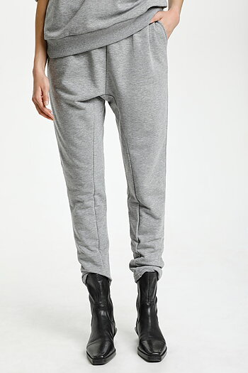 Culture - Vega Pants Grey Melange