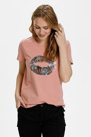 Culture - Gith T-shirt Ash Rose