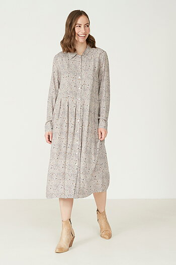 Isay - Annica Button Dress Minimalisme