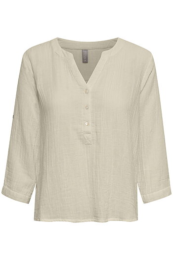 Culture - Elina Blouse Oatmeal
