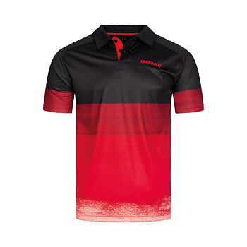 Donic tröja Force, black/red