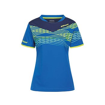 Donic ladies shirt Clash, royal/navy