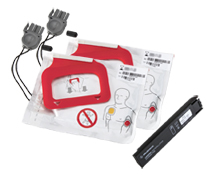 Physio Control  LIFEPAK CR Plus CHARGE-PAK  med 2 par elektroder