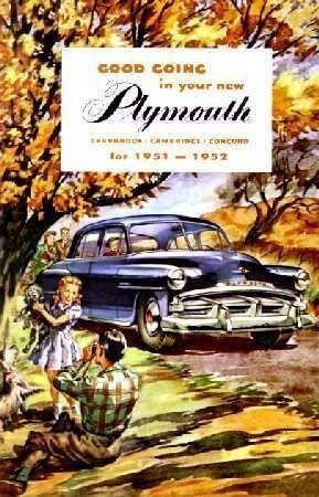 1951 - 1952 Plymouth Instruktionsbok