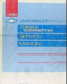 1990 Chevrolet Corsica & Beretta Service Manual