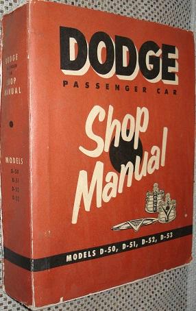 1954 Dodge Service Manual