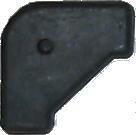 1953 - 1958 Buick Hörngummi batteriram