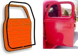 1947 - 1949 Chevrolet & GMC Pickups, Door weatherstrip kits