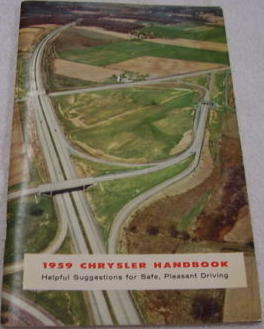 1959 Chrysler Owners Manual