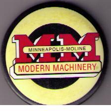 Minneapolis-Moline kylskåpsmagnet