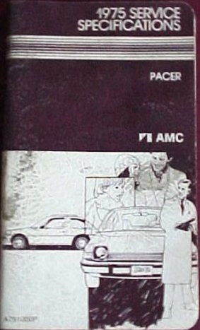 1975 AMC Pacer Service Specifications