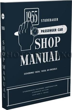 1955 Studebaker Shop Manual