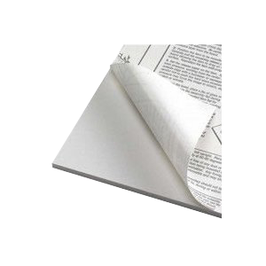 Foamboard 5 mm, white one-side self-adhesive