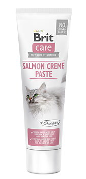 Brit Cat Paste Salmon creme med Omega3