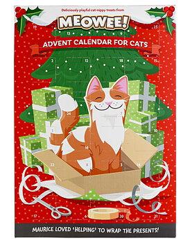 Julkalender för katt Meowee