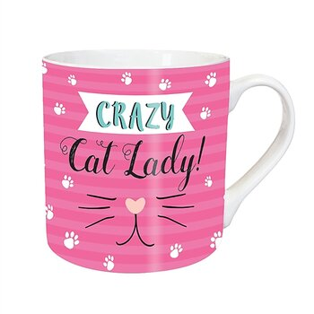 TeMugg Crazy Cat Lady / Purrfect