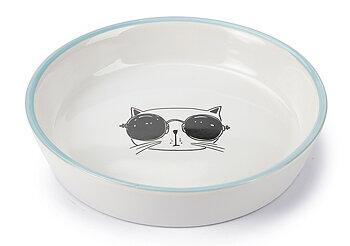 Kattmatskål med låg kant Sunglasses